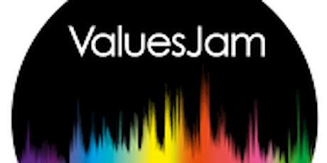 ValuesJam introduction tickets