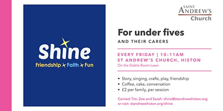 Shine | A place for for Under Fives and carers tickets
