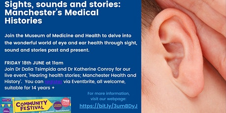 Hearing health stories: Manchester Health and History tickets