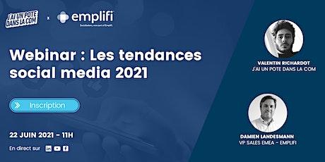 [WEBINAR] Les tendances social media 2021 billets
