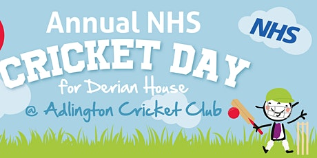 NHS Do It for Derian House Event at Adlington Cricket Club tickets