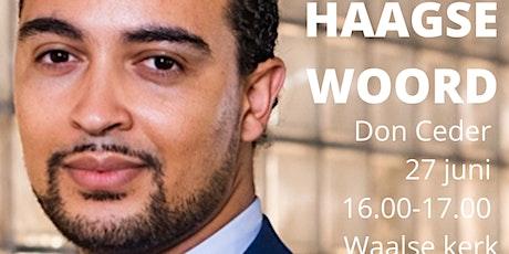Het Haagse Woord door Don Ceder tickets