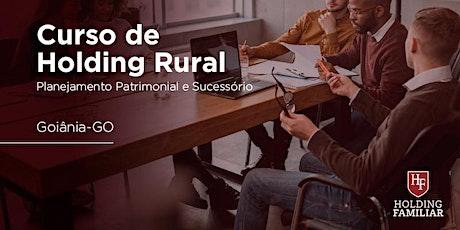 Holding Rural: Planej. Patrimonial e Sucessório - Goiânia, GO - 19/ago ingressos