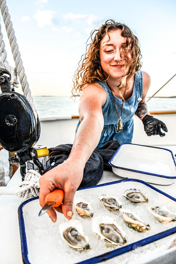 Sunset Beer and Oyster Cruise w/ Lone Pine Brewing image