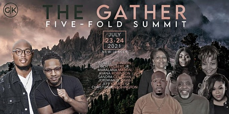 The GATHER Five-Fold Summit HONOR NIGHT tickets