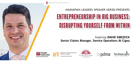 Entrepreneurship in Big Business: Disrupting Yourself from Within tickets