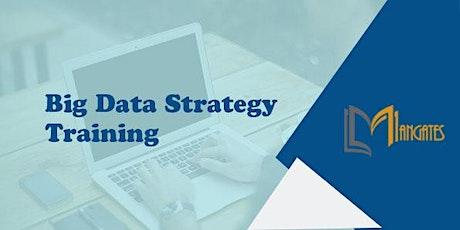 Big Data Strategy 1 Day Virtual Live Training in Rio de Janeiro ingressos