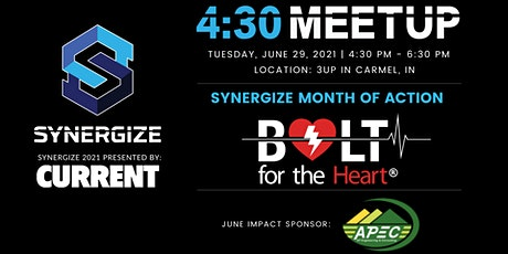 Synergize 4:30 Meetup | June | Member Tickets tickets