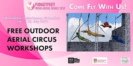 IADF Local: Free Taster Aerial Workshops (Letterkenny) tickets