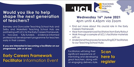 Early Careers Framework Facilitator Information Event tickets