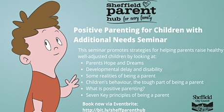 Positive Parenting for Children with Additional needs tickets