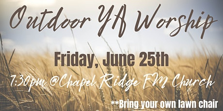Young Adult Outdoor Worship tickets