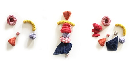 Kids Funky Wonky Crochet Sculpture - 5 week holiday course tickets