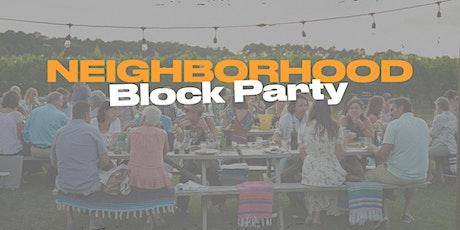Neighborhood Block Party tickets