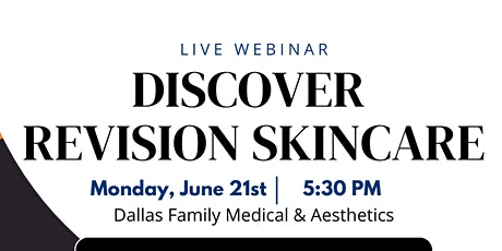 Discover Revision Skincare tickets