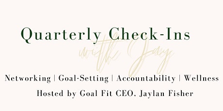 Quarterly Check-Ins with Jay tickets