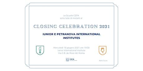 Closing Celebration 21 biglietti