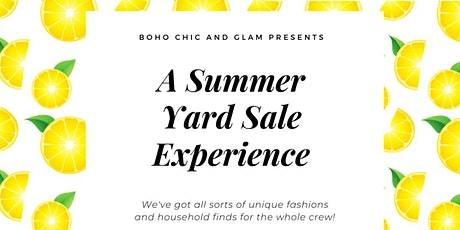 Yard Sale Experience tickets