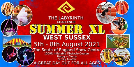The Labyrinth Challenge Summer XL tickets