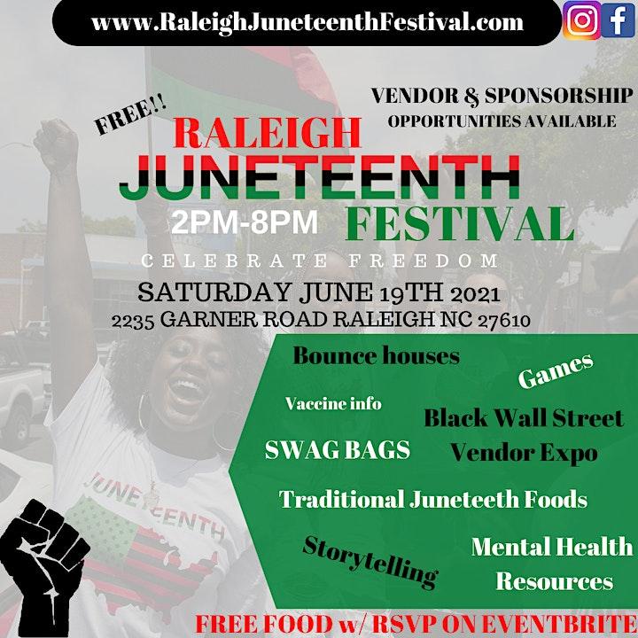 Raleigh Juneteenth Festival image