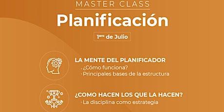 Masterclass: Planificación y Control de Gestión entradas
