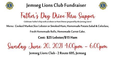Jemseg Lions Club - Drive Thru Lobster Dinner tickets