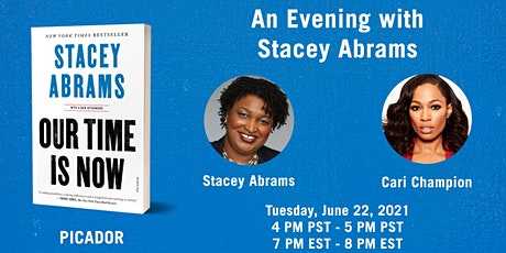 An Evening with Stacey Abrams ingressos