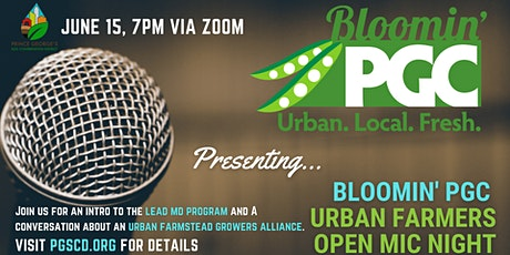 Bloomin' PGC Urban Farmers & Growers Open Mic Night tickets