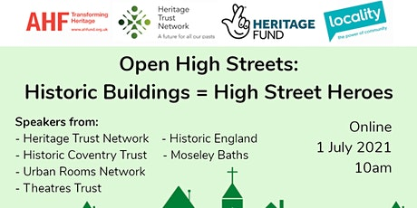 Open High Streets: Historic Buildings = High Street Heroes tickets
