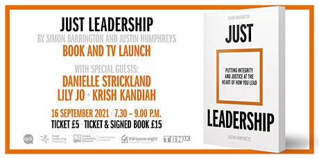 Just Leadership - Book and TV Launch tickets