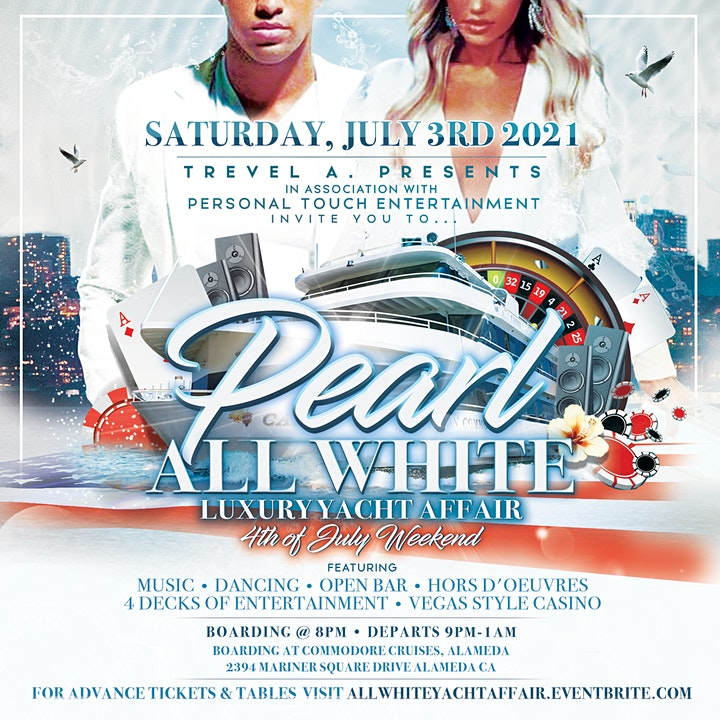 PEARL -ALL WHITE LUXURY YACHT AFFAIR image