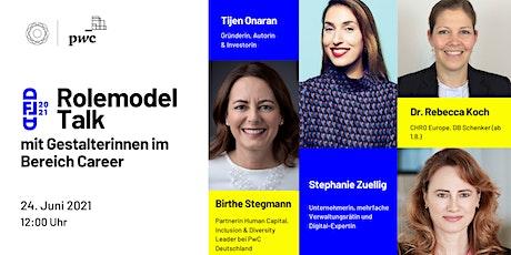 Rolemodel  Talk  4 -  mit Gestalterinnen im Bereich Career tickets