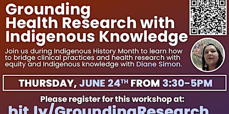 Grounding Health Research with Indigenous Knowledge tickets