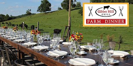 Gibbet Hill Farm Dinner •August 18 tickets