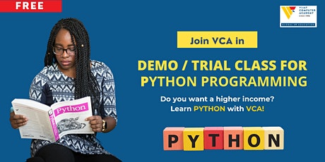 Demo / Trial Class for PYTHON IT Certification tickets