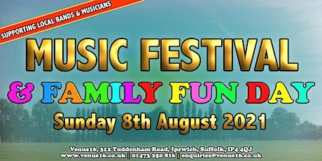 Venue16 Music Festival & Family Fun Day tickets