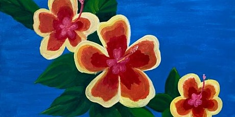 Paint and Sip Event 'Hibiscus' tickets
