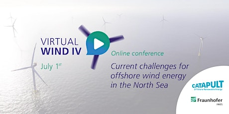 VirtualWind IV Current challenges for offshore wind energy in the North Sea tickets