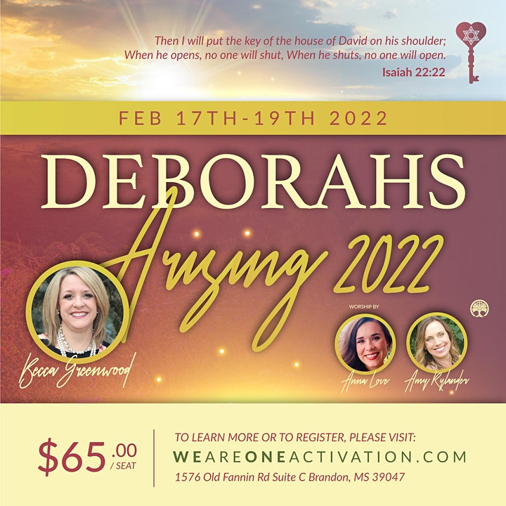 Deborahs Arising 2022 image