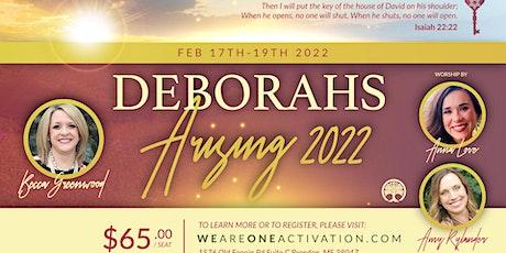 Deborahs Arising 2022 tickets