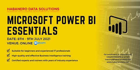 Data Analytics & Business Intelligence Training Using Power BI - July 2021 tickets