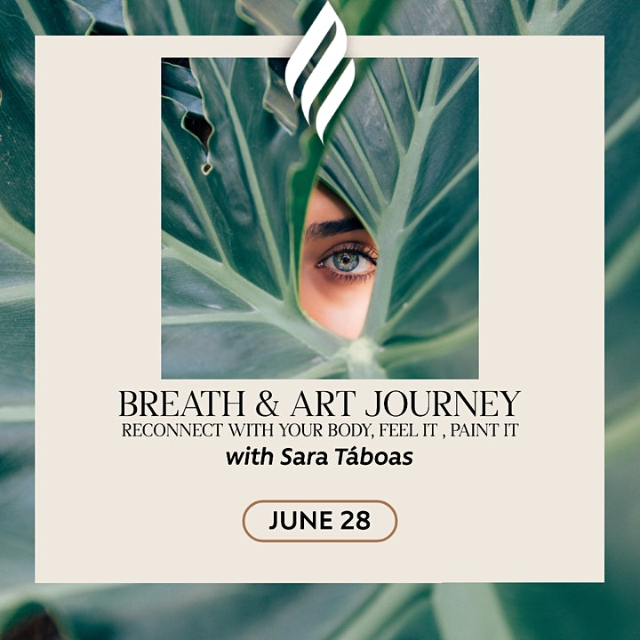 Breath & Art journey: Reconnect with your body, feel it, paint it. image