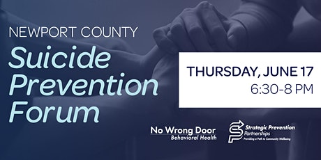 Suicide Prevention Forum of Newport County tickets