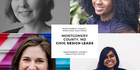 Connection Session - Civic Design Lead Recruiting - Montgomery County MD tickets