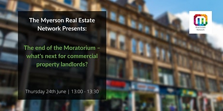 The end of the Moratorium – what's next for commercial property landlords? tickets