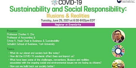 Korea-Canada Open Seminar:COVID19, Sustainability and Social Responsibility tickets