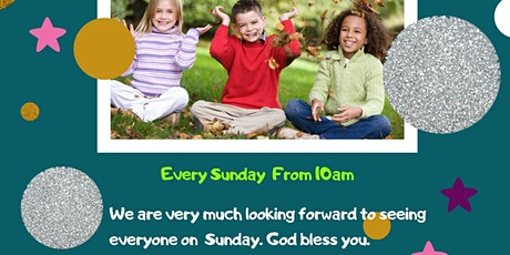 Children's Sunday School Service: Bubble's Class tickets