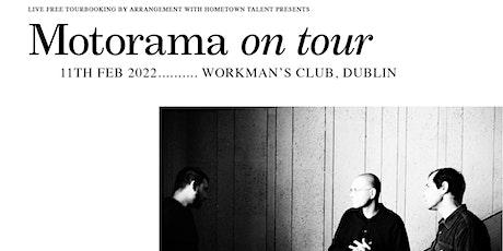 Motorama - Dublin tickets