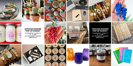 Chicago Makers Pop Up Market at Midwest Coast Brewing tickets