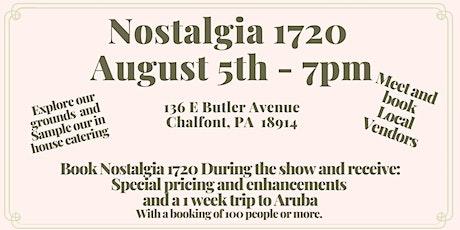Wedding Show at Nostalgia 1720 tickets